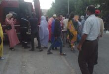 صورة حادثة سير خطيرة بمركز سيدي احمد الݣنتور اقليم اليوسفية